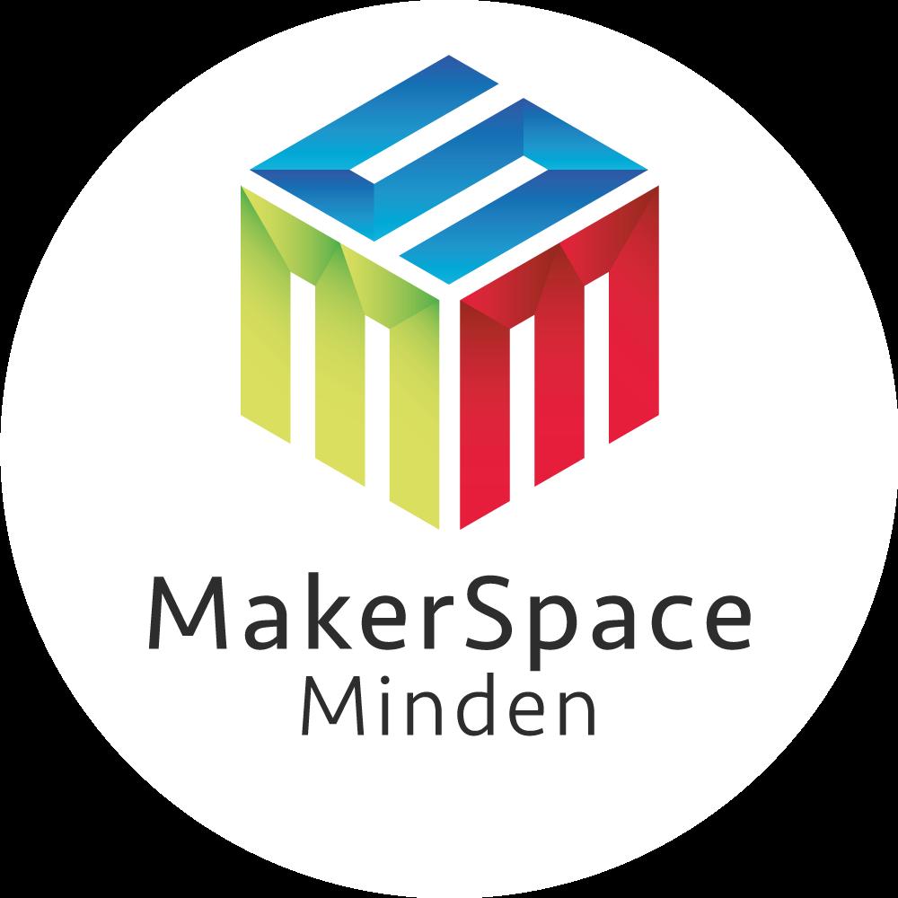 Logo MakerSpace Minden Rund